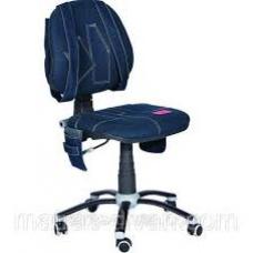 Кресло поворотное на опорах качения Джинс