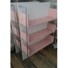 Полка бело-розовая FC-116