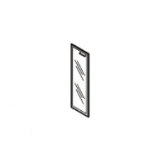 Gr-04.1L Дверь стеклянная в рамке МДФ