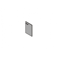 Gr-7.1 Дверь низкая глухая
