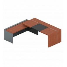 Стол с боковой приставкой,бюваром и кабель-каналом AN-200.2 R/L